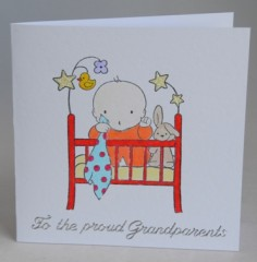 Proud Grandparents Card