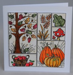 Autumn Delights card