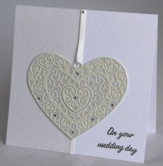 Wedding Day Heart Card
