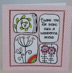 Wonderful Friend Card