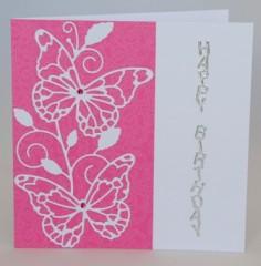 Waltzing Butterflies Card