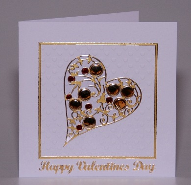 Bubble Heart Card