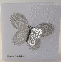 Layered Butterfly Card