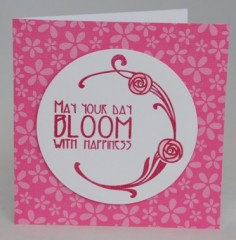 Bloom With Happiness Card