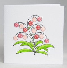 Bubble Flower Card