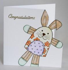 Toy Rabbit Card
