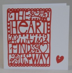 The Heart Always... Card