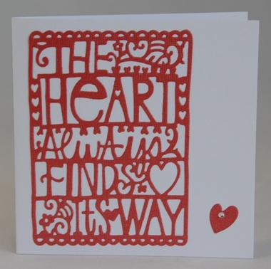 The Heart Always... Card