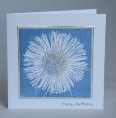 Large Daisy Birthday Card