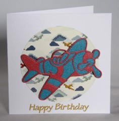 Flying High Birthday Card