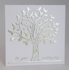 Wedding Tree Card