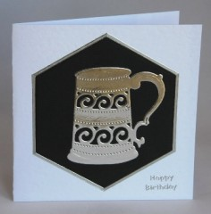 Beer Tankard Card