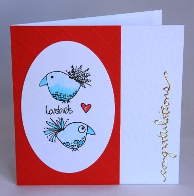The Lovebirds Card