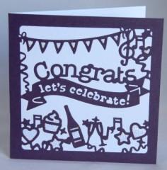 Let's Celebrate - Congrats Card