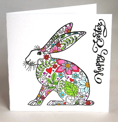 Easter Rabbit Card