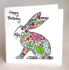 Birthday Rabbit  Card