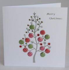 Sparkling Tree Card