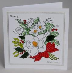 Christmas Roses Card