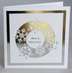 Snowflake Circle Card