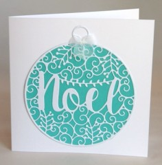 Large Bauble Card