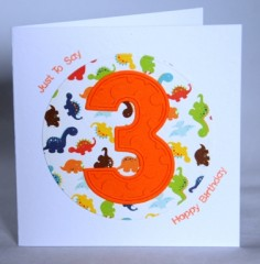 Third Happy Birthday Card