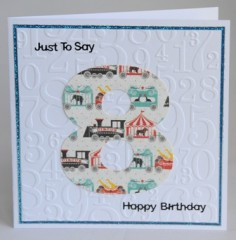 Eighth Birthday Card