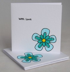Pretty Blooms Notecards
