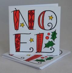 Noel card pack