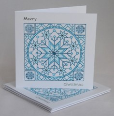 Sparkling Snowflake Card Pack