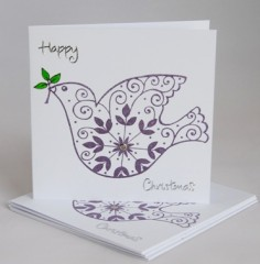 Christmas Dove Card Pack