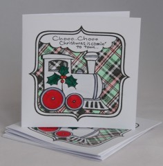 Christmas Is Coming Card Pack