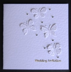 Butterflies Wedding Stationery