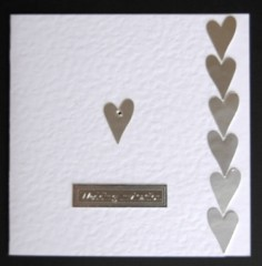 Hearts and Gemstone Wedding Stationery