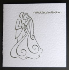 Bride And Groom Wedding Stationery